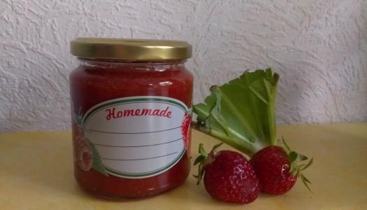 Fruchtige Erdbeer-Rhabarber-Marmelade