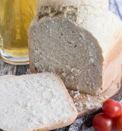 Wuerziges Bierbrot Brotbackautomat Rezept BBA schnell und einfach Brot selber machen