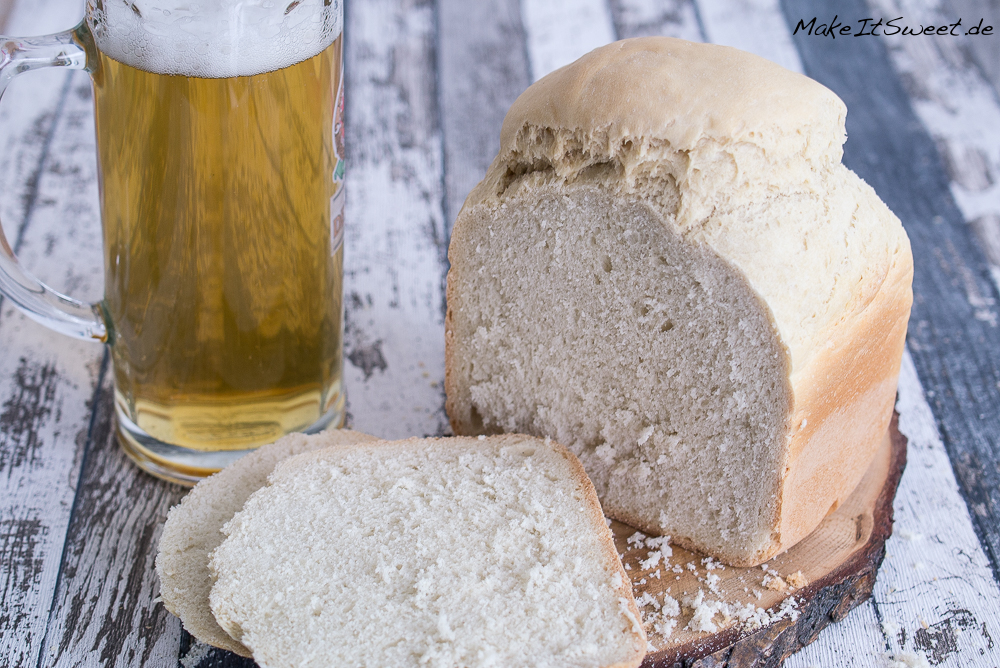 Wuerziges Bierbrot Brotbackautomat Rezept BBA weiches luftiges Brot