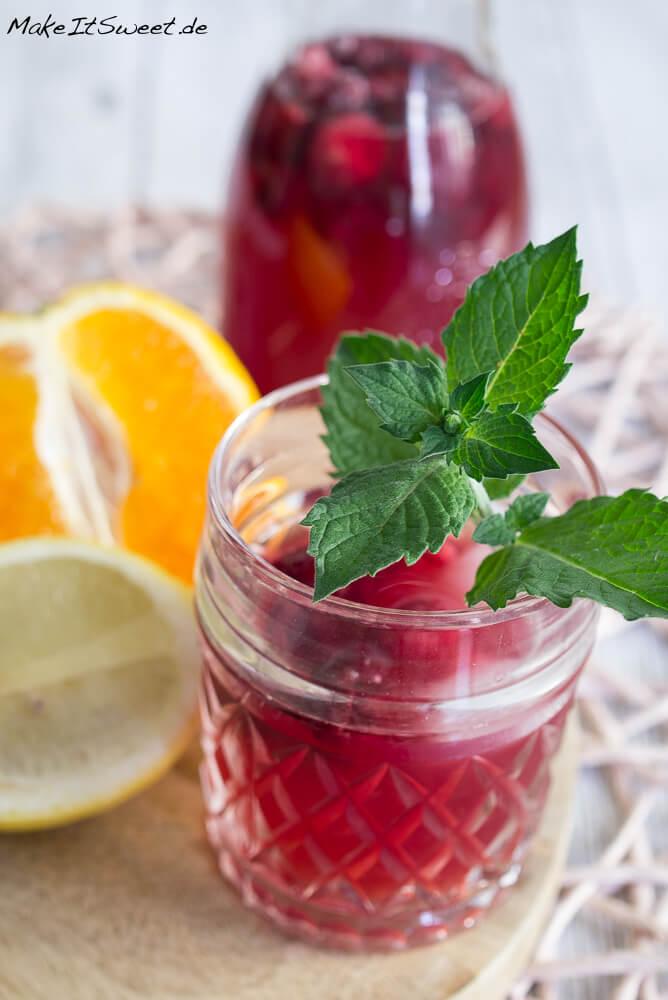 Fruchtiger Sommer Eistee Rezept - MakeItSweet.de