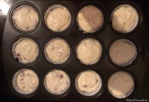 Johannisbeer-Schoko-Cupcakes