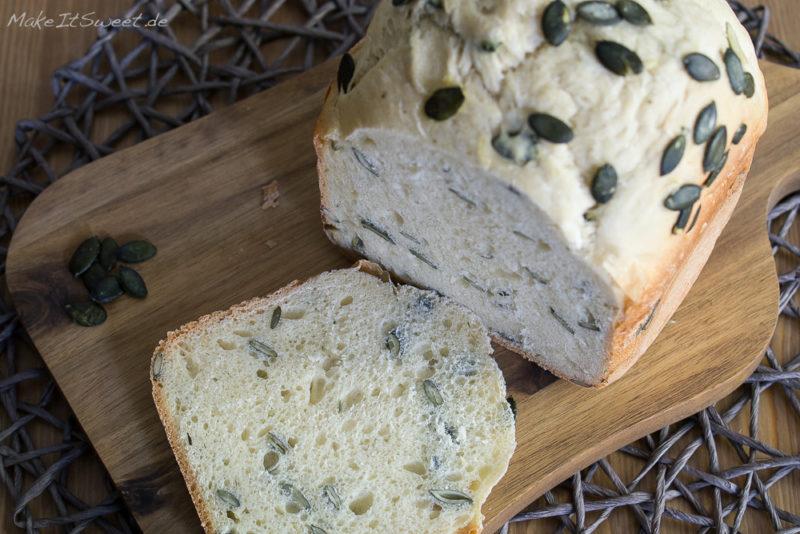 Kuerbiskernbrot Joghurt Rezept BBA Brot einfach