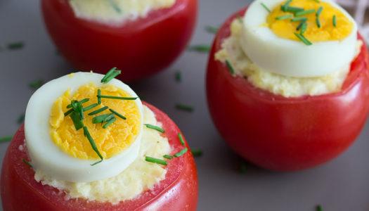 Tomaten-Kartoffel-Nester Rezept
