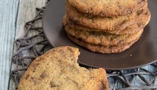 Cookies Rezept mit Schokoladenstücke