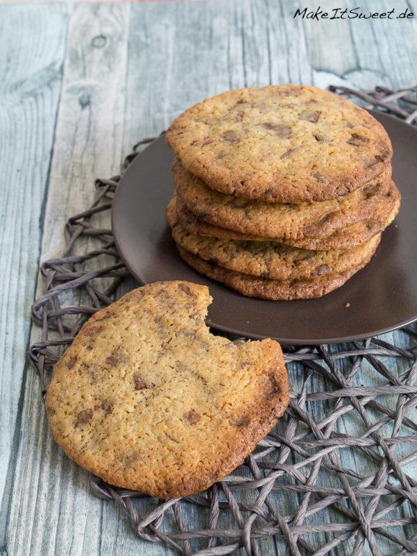 cookies rezept mit schokoladenst cke. Black Bedroom Furniture Sets. Home Design Ideas
