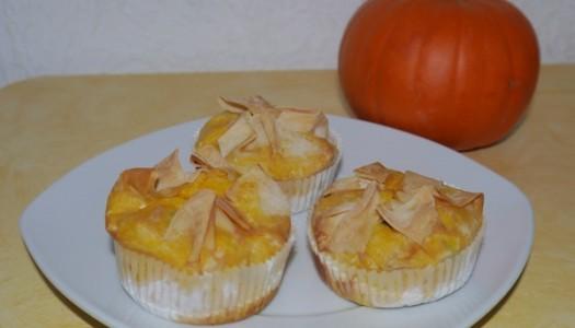 Kürbis-Speck-Muffins