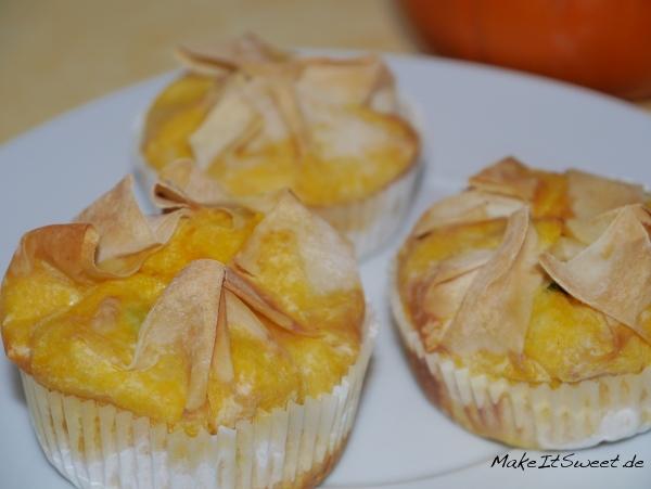 Kürbis Muffin