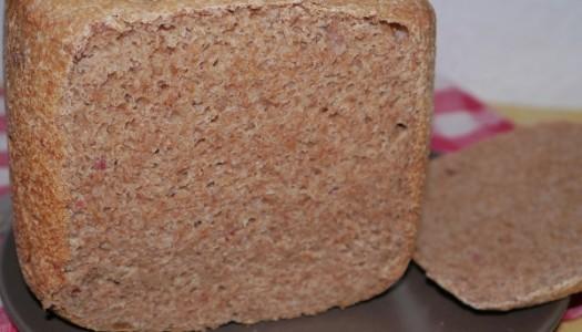 Speck-Dinkel-Brot aus dem Brotbackautomat
