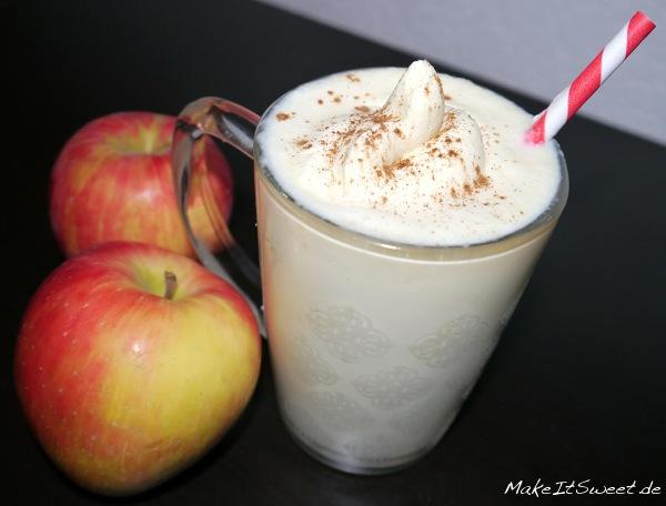 Apfel-Milchshake