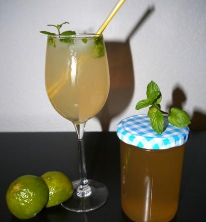 Hugo-Cocktail-und-Gelee