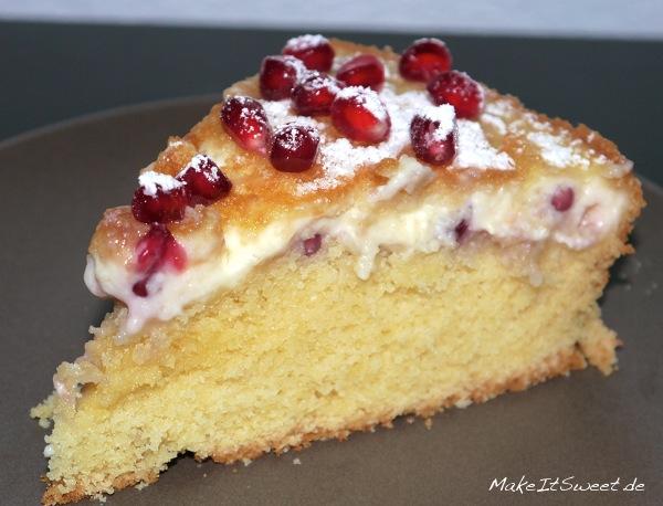 Granatapfel Kuchen 2