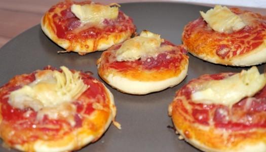 Mini Pizzen selber machen