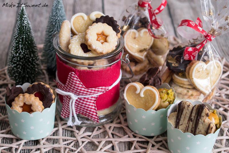 Weihnachtsgebäck Verpacken.Ideen Zum Verpacken Von Plätzchen Makeitsweet De