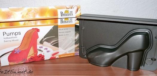Vollbackform Pumps {Produktvorstellung} und Rezept für Baileys-Kuchen mit Krokant