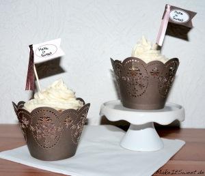 Schokolade-Nuss-Nutella-Bananen-Cupcake