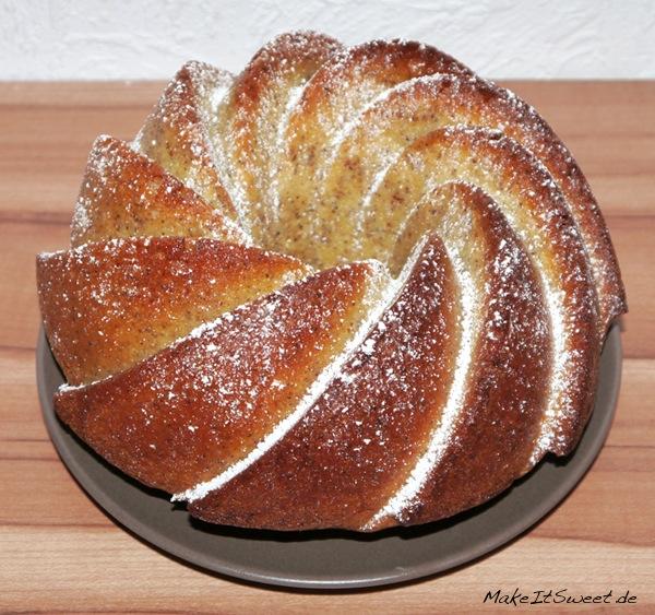 Zitronen-Mandel-Mohn-Kuchen