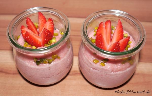 Erdbeer-Griessbrei-Dessert-Rezept