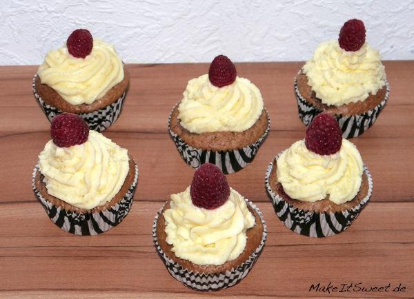 Himbeer-Schokolade-Cupcake-Rezept