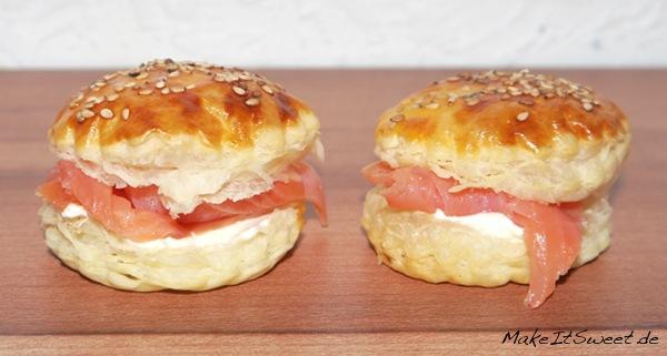 Lachs-Sesam-Burger
