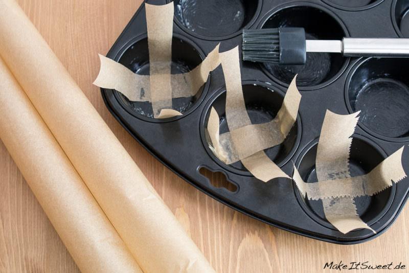 Muffinform Backpapier auslegen Tipp Anleitung Idee