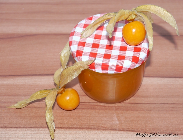 Physalis-Mango-Marmelade