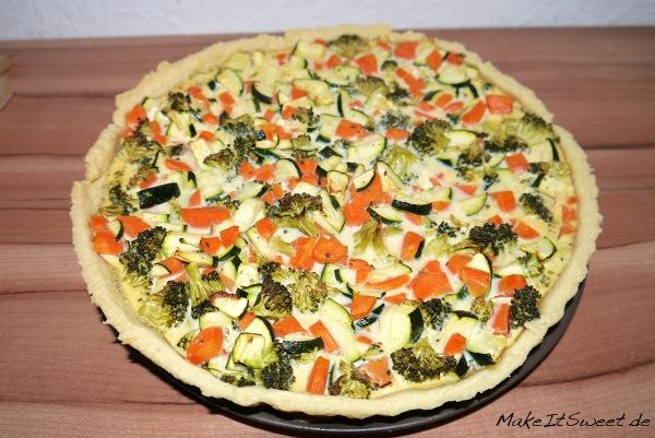 Karotten-Zucchini-Brokkoli-Quiche-Rezept