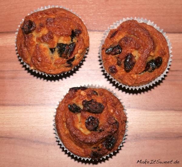 Cranberry-Schnecken-Muffin-Rezept