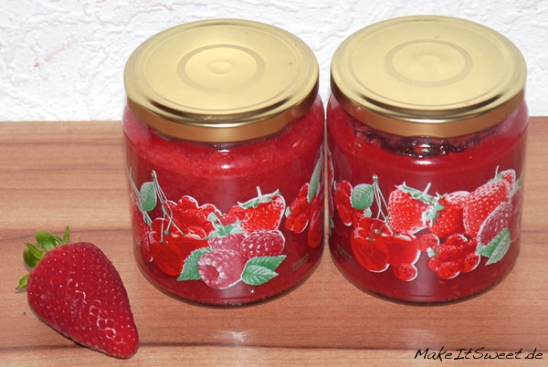 Erdbeer-Himbeer-Marmelade-Rezept