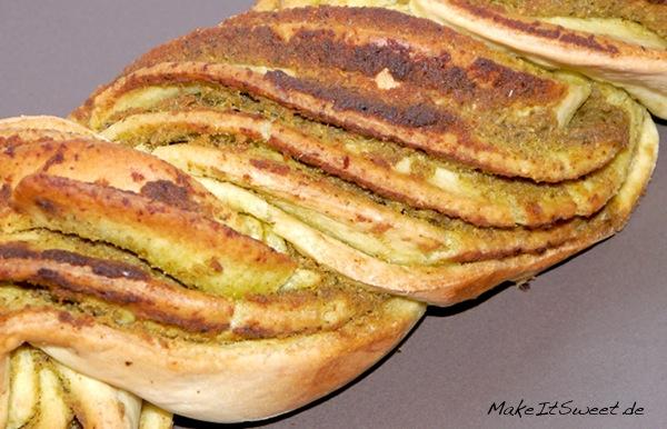 Pesto-Zupfbrot-Brot-Rezept