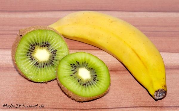 Kiwi-Banane-Milchshake-Rezept