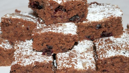 Nutella-Cranberry-Kuchen
