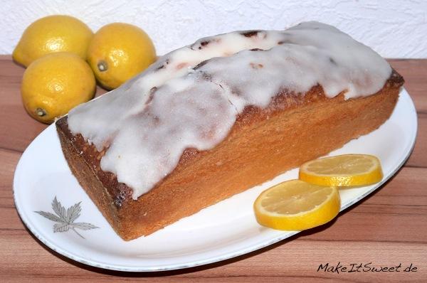 Zitronensandkuchen-Kastenform-Rezept