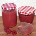 Weinbergpfirsich-Himbeere-Marmelade-Rezept