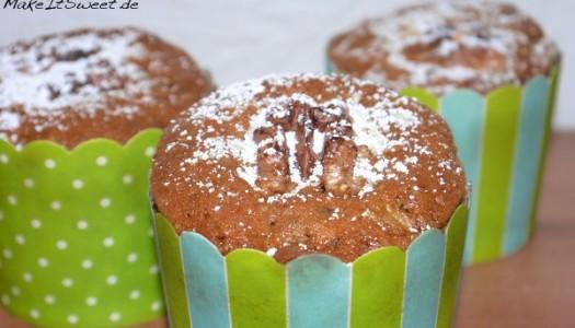 Zucchini-Walnuss-Muffins