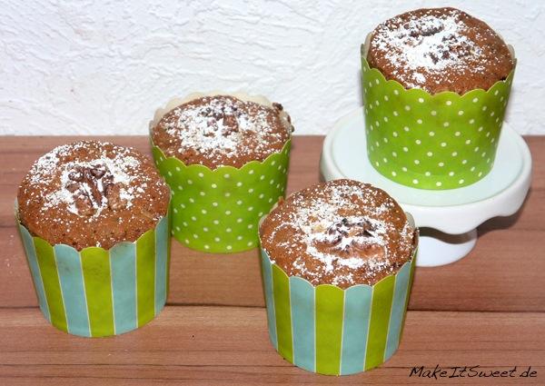 Zucchini-Walnuss-Muffins-Rezept