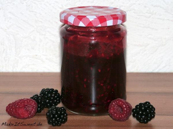 Brombeer-Himbeer-Marmelade-Rezept