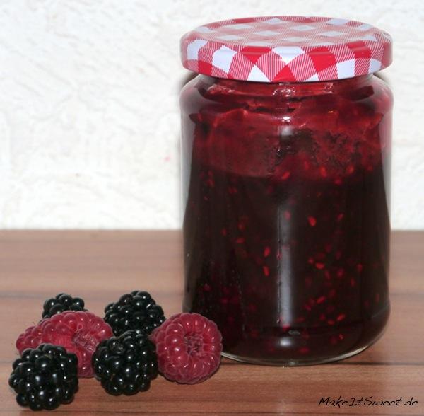 Brombeere-Himbeere-Marmelade-Rezept