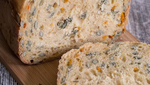 Kürbis-Chili-Brot aus dem Brotbackautomat
