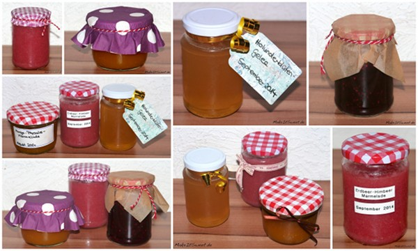 Marmelade Dekorieren