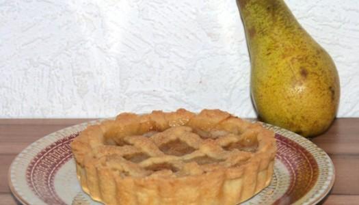 Mini Birnen-Zimt-Pie