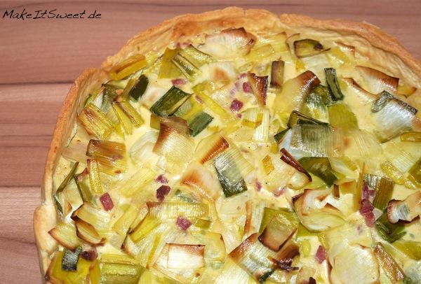 Kuchen-mit-Lauch-und-Speck-Rezept