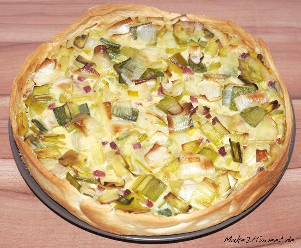 Lauch-Speck-Kuchen-Rezept