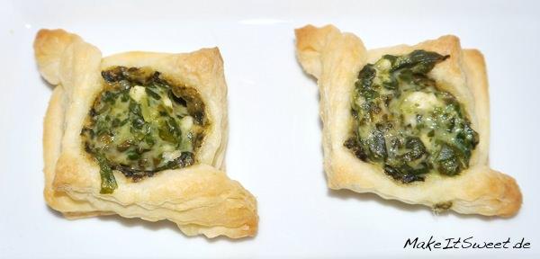 Feta-Spinat-Häppchen
