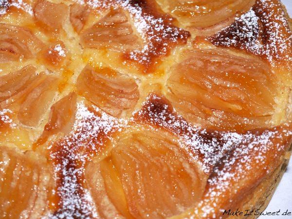 Käse-Apfelkuchen