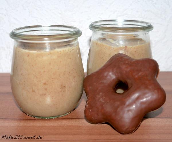 Lebkuchen Pudding Weihnachten Dessert Rezept