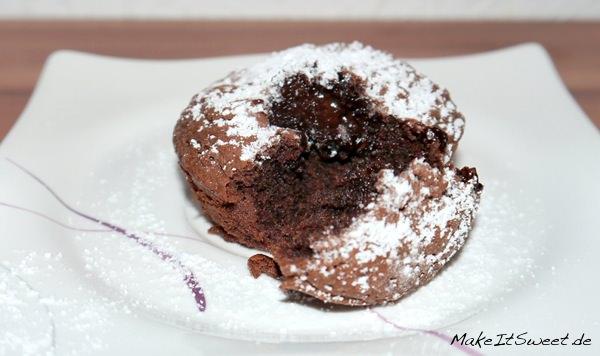 Muffin-mit-flüssigem-Kern