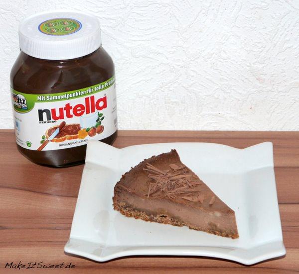Nutella-Käsekuchen-Rezept