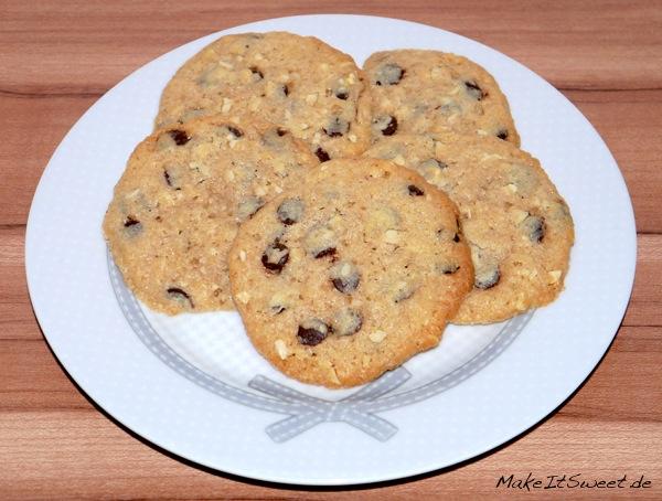 Schoko-Erdnuss-Cookies-Rezept