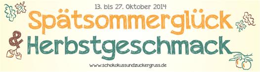 Schokokuss-und-Zuckergruß-Spätsommerglück-und-Herbstgeschmack-Banner