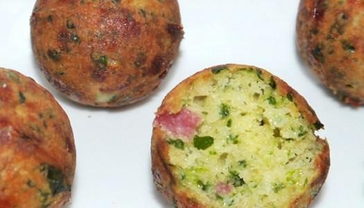 Spinat-Nuss-Käse-Kugeln aus dem Cake Pop Maker